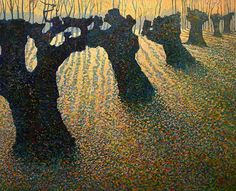 Daybreak, the Old Forest (2007) by Tom Dubbeldam