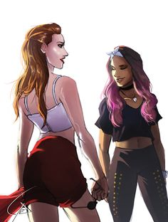 Riverdale/Toni and Cheryl Cheryl Blossom Riverdale, Riverdale Cheryl, Riverdale Cw, Archie Comics Riverdale, Bff, Riverdale Characters, Cole Sprouse, Life Is Strange, Badass Women