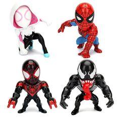 Spider-Man 4-Inch Metals Die-Cast Action Figure Wave 1 Case