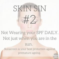SKIN SIN #2 - Not wearing your SPF every day, Rain or shine. The harmful UV rays rapidly speed up the aging process. SPF is the ultimate skin product. . . . . . www.marykay.ca/jconstant