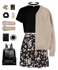 """heartbreaker"" by ishipbullshit ❤ liked on Polyvore featuring Topshop, Accessorize, Bunn, Betsey Johnson, Aquazzura, Tucano, Aesop, polyvorecontest and librarychic"