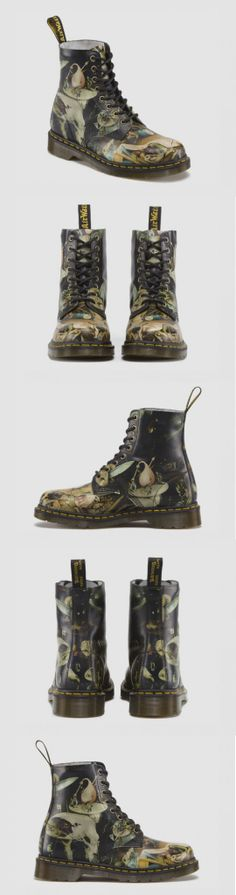 Doc Martens reimagined by Hieronymus Bosch. #cool #foot #art
