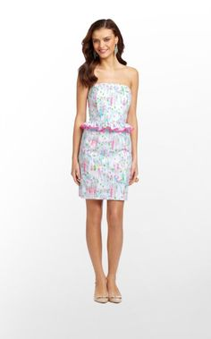 My new B'Day Dress. Sooo Cute.  Lilly here in Key West having an Awesome Sale.