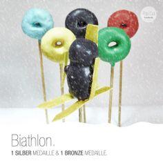 Biathlon Cake Pop Snowboard, Cake Pops, Bronze, Sport, Gold, Biathlon, Ski, Silver, Deporte