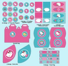 hello kitty party images, supplies  & decorations | hello kitty printables