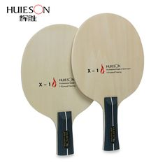 Huieson 5 Capas de Madera Mesa de Ping Pong Hoja Suave Ligero y No Hinchable para el Tenis de Mesa Estudiantes Niños Entrada nivel de la Raqueta