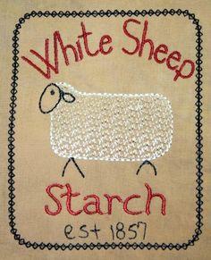White Sheep Starch