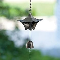 Cast Iron Japanese Wind Chime  in  from Artisan Table on shop.CatalogSpree.com, your personal digital mall.