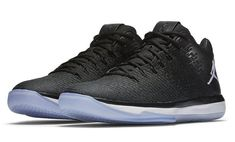 12ce329f0b88 Air Jordan Low Black White Release Date. This Air Jordan 31 Low features an  all-Black Flyweave and leather upper atop a White midsole and icy outsole.