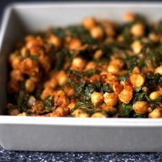 ... chickpeas spinach with chickpea spinach garbanzo spinach chickpea
