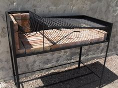 Opinions on two Argentine style BBQ grills I& currently looking into. Bbq Grill, Asado Grill, Fire Grill, Grilling, Grill Outdoor, Outdoor Fire, Outdoor Cooking, Outdoor Entertaining, Wood Oven