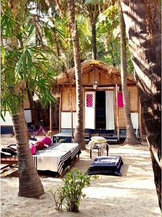 Jade Jagger's Indian Abode in Goa, love it!