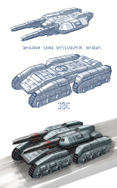 Railgun Tankdestroyer by 4-X-S
