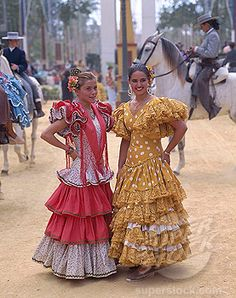 Feria del Caballo, Jerez de la Frontera. Spain
