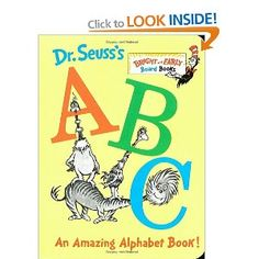 Dr. Seuss's ABC: An Amazing Alphabet Book!: Amazon.ca: Dr. Seuss: Books