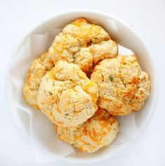 This recipe is technically a copycat of Red Lobster's Cheddar Bay Biscuit! Soft, buttery, salty and cheesy it is the perfect compliment to dinner!
