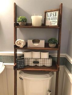 Over The Toilet Leaning Ladder Shelf Made to Order Decor Bathroom Space Saver Bathroom Storage Farmhouse Storage Bathroom Remodel Bathroom Decor Ideas Bathroom Decor Farmhouse Ladder Leaning order Remodel Saver Shelf space Storage Toilet Bathroom Storage, Small Bathroom, Bathroom Ideas, Brown Bathroom, Bathroom Cabinets, Paint Bathroom, Bathroom Mirrors, Wall Storage, Bathroom Designs