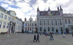 Burg Square Brugge.
