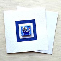 Fishing Boat Card, Birthday Card, Greeting Card, Blank Card, Magnet Card, Nautical Card, Maritime, Seaside Card Nautical Cards, Cellophane Wrap, Boat Design, Card Birthday, Blank Cards, Fishing Boats, Girl Gifts, More Fun, Seaside