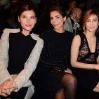 PHOTOS - Fashion Week Paris 2013 : Virginie Ledoyen, Clotilde Courau et Marie-Josée Croze, trio glamour moulées dans leurs robes crayon Elie Saab !