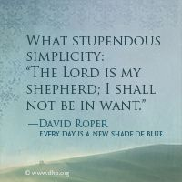 """What stupendous simplicity . . .""  Simple. I like that word."