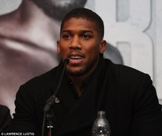 The IBF and WBA heavyweight champion is 'close' to signing to fight WBO king Joseph Parker Boxing Anthony Joshua, Joseph Parker, Sports Awards, The Clash, Roger Federer, Dream Guy, Superstar, Champion, It Cast
