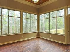 screened porch floors | faux wood tile floor in screen porch | For the Home