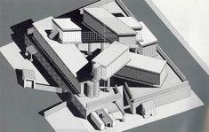 Ettore Sottsass,  plan, flexible environment module, 1972