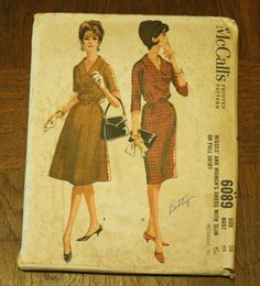 McCall 6089 1960s 60s Double Breaste Day by EleanorMeriwether, $12.00