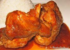 Conejo a la cerveza Turkey Recipes, Mexican Food Recipes, Carne Asada, Special Recipes, Chicken Wings, Grilling, Recipies, Pork, Food And Drink