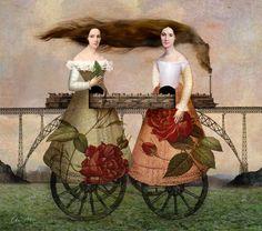 'Paradise Train' von Catrin Welz-Stein bei artflakes.com als Poster oder Kunstdruck