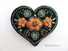 black embroidery pin