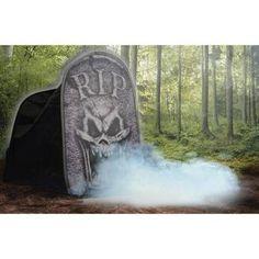 Tombstone Macabre Foggy Halloween Decoration - Walmart.com