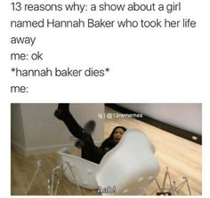 #13 reasons why #thirteen reasons why #hannah baker