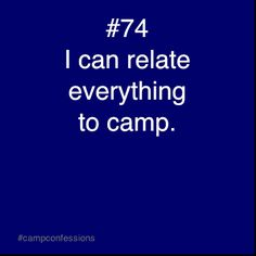 Yup, i've taught a lot of lessons with camp stories