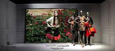 """Printemps Mode, Etage 2, Paris,""""It's a floral affair"""", pinned by Ton van der Veer"""
