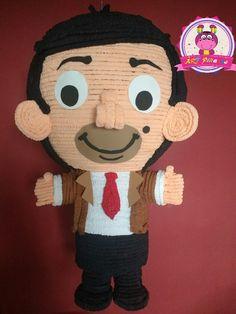 Piñata de Mr Bean, síguenos en facebook ART-piñatas 🍭. Mr. Bean, Mickey Mouse, Disney Characters, Fictional Characters, Pastel, Facebook, Mini, Art, Party