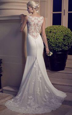 Preciosos Vestidos de Novia - Casablanca Bridal Primavera 2015 - Bodas