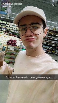 I love when he wears those