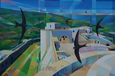 Crac des Chevaliers and Swifts 90 x 60cm Oil on Canvas Commissioned Crac des Chevaliers is a Crusader castle in Syria and is one of the most important medieval castles in the world. It was designated a UNESCO World Heritage … Continue reading →
