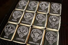 The district cookies....District 1 = Luxury. District 2 = Masonry. District 3 = Technology. District 4 = Fishing. District 5 = Power. District 6 = Transportation. District 7 = Lumber. District 8 = Textiles. District 9 = Grain. District 10 = Livestock. District 11 = Agriculture. District 12 = Coal.