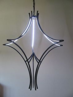 Wrought Iron Led Chandelier.