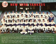 1963 NEW YORK YANKEES BASEBALL TEAM 8X10 PHOTO PICTURE