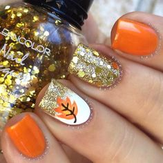 Best Fall Nails 2018 - 55 Best Fall Nails - FAVHQ.com