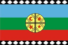 Bandera Mapuche | Comunidades Mapuche | Subsecretaría de Turismo ... Education Reform, Indigenous Tribes, Decoupage, Flag, Writing, Pattern, Textiles, People, Geography