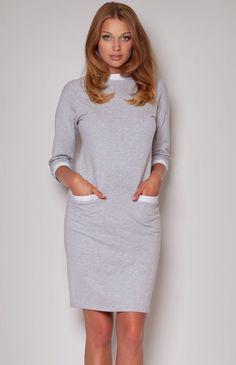 Figl 205 sukienka HIT, Bawełniana sukienka!
