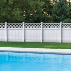 22 Vinyl Fence Ideas For Residential Homes Garden