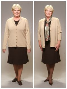 Style Dilemma: How can I dress to look thinner? Over 60 Fashion, Fashion Over 50, All About Fashion, Daily Fashion, Fashion Tips For Women, Fashion Advice, Fashion Outfits, Womens Fashion, Fashion Quiz