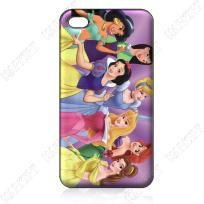 New Disney PRINCESSES iPhone 4 4s 5 Cell Phone Case/Cover - Cinderella, Belle, Snow White
