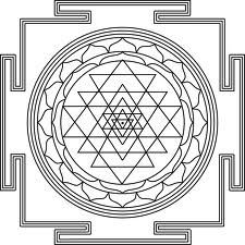 sri yantra mandala formation